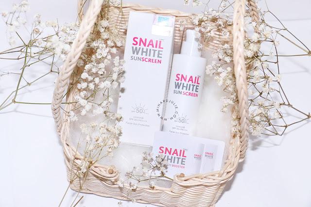 Snail White Sunscreen SPF50