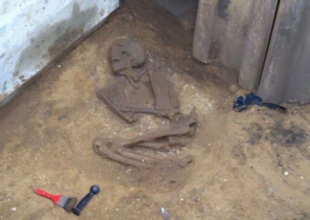 Ancient skeleton found in Yorkshire sewer trench