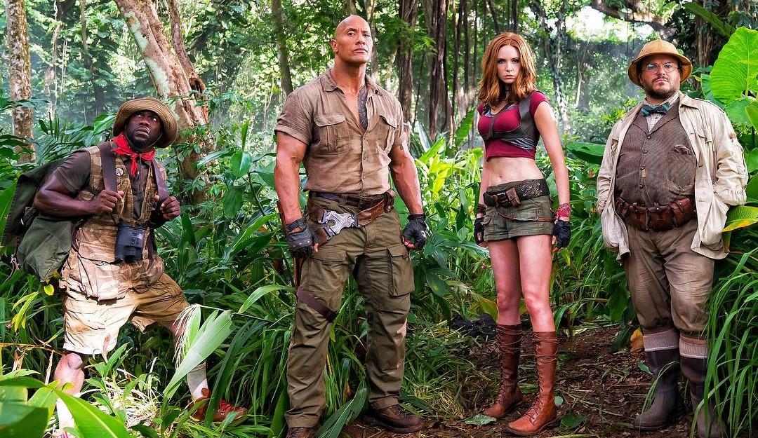 """Confira o 1º trailer de """"Jumanji: Bem Vindo à Selva"""", com Dwayne Johnson e Kevin Hart"""
