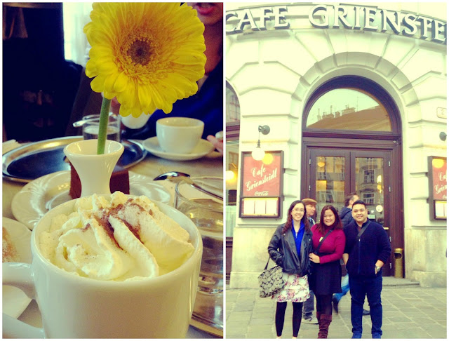 Cafe Griendsteidl Vienna