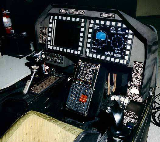 Fighter Jet: Bell AH-1Z Viper Cockpit