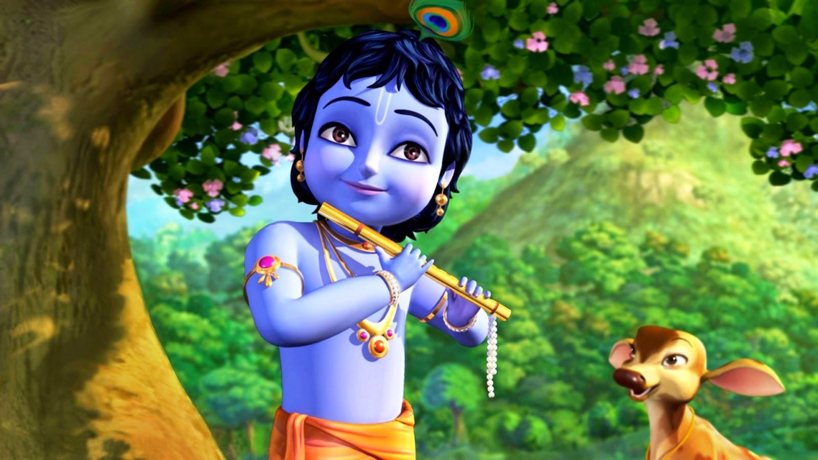 Little Krishna - Disney Cartoon - Full Video  Dot 9 Vdo-7057