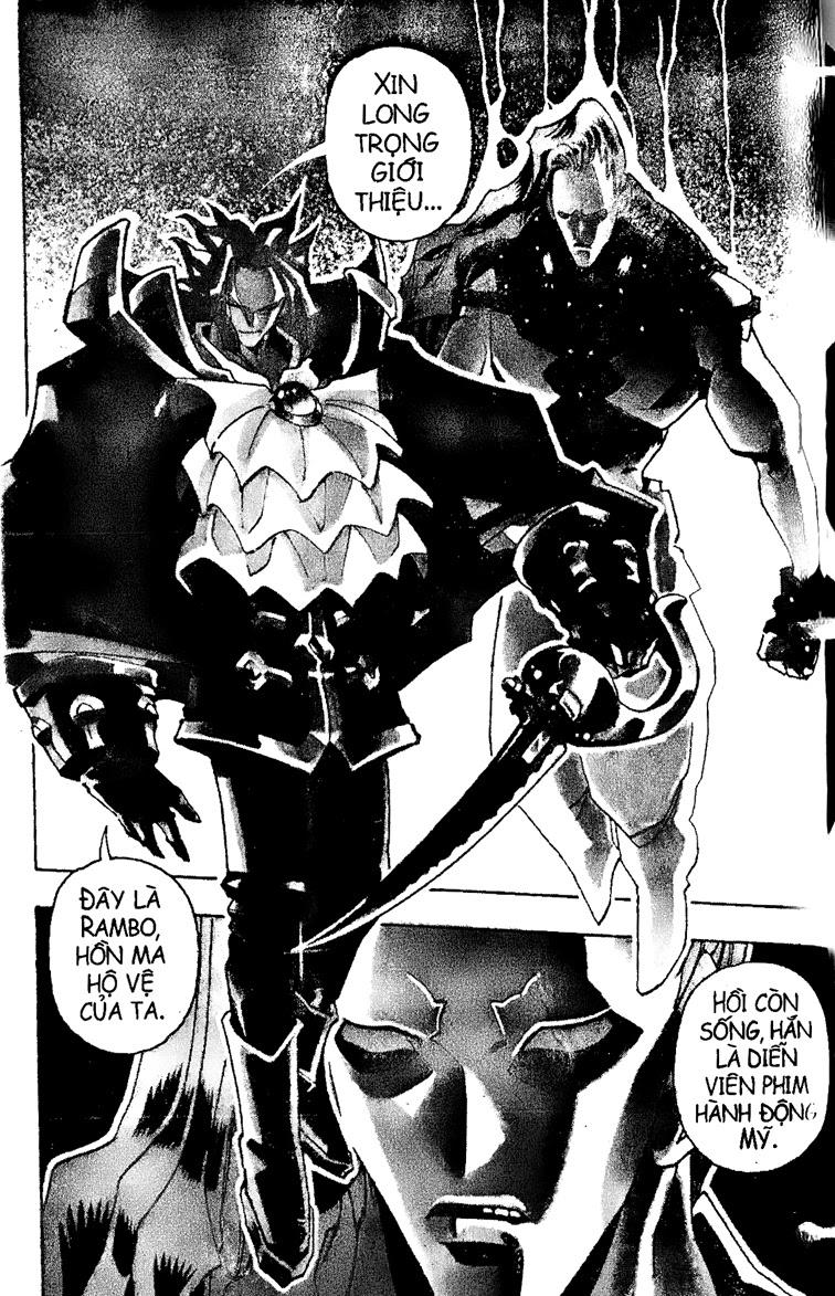 Shaman King [Vua pháp thuật] chap 96 trang 4