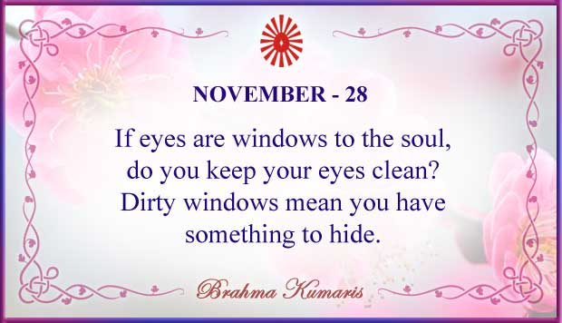 Thought For The Day November 28