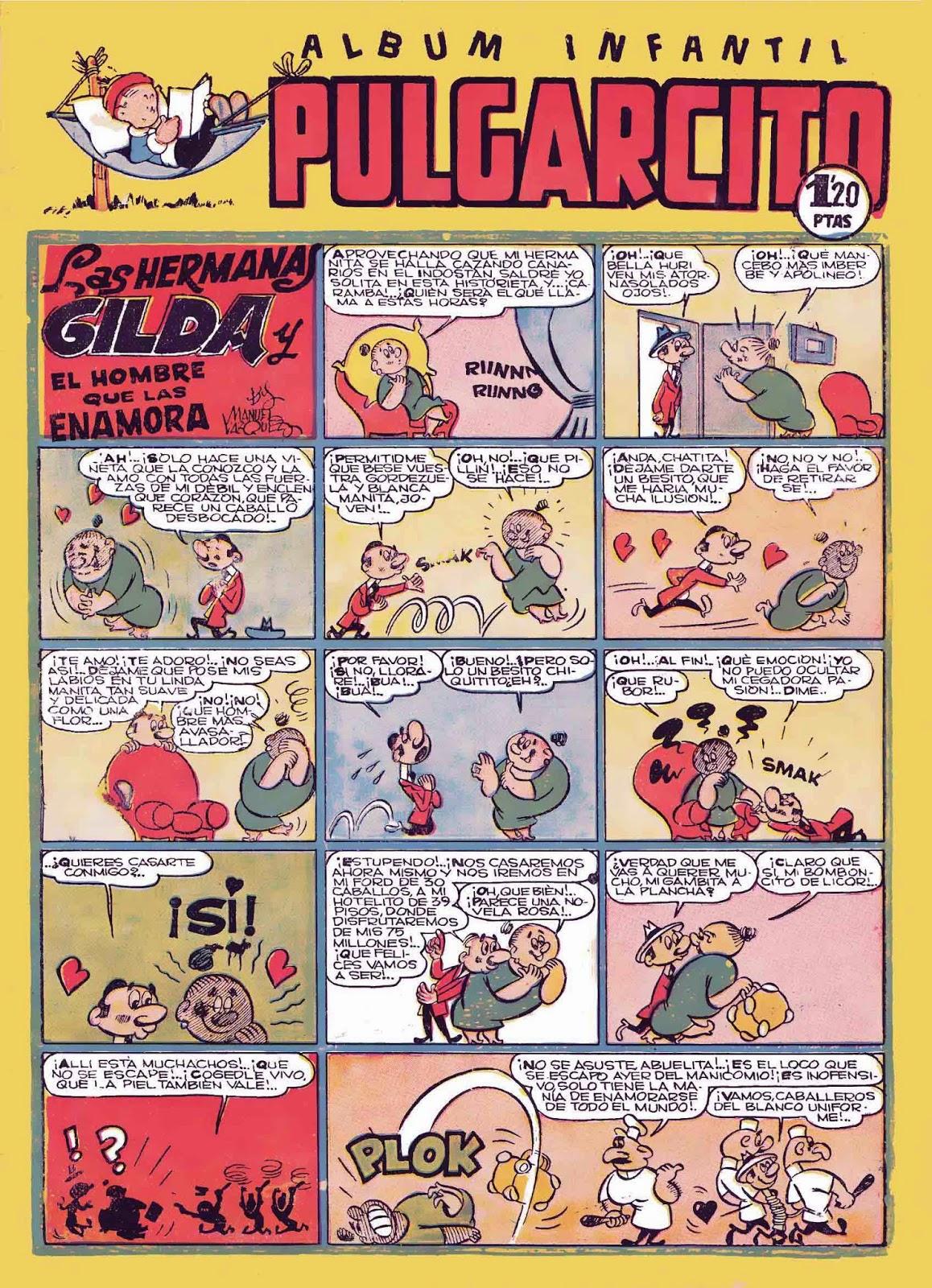 Las hermanas Gilda, Pulgarcito nº 125