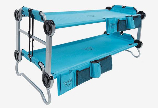 High Grade polyester sleeping deck provides a true contoured comfort