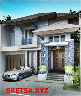 Sketsa Atau Contoh Model Rumah Minimalis Terbaru Tahun 2017