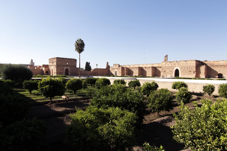 Los naranjos del Palacio el Badi