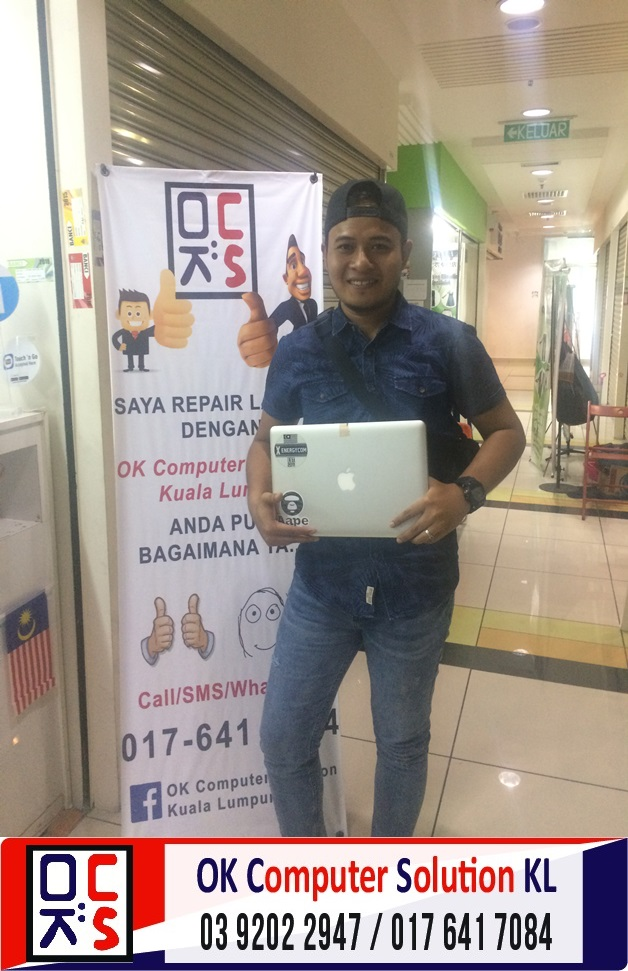 [SOLVED] MACBOOK PRO A1278 TIADA OS | REPAIR MACBOOK CHERAS 5