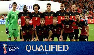 Belgia Memastikan Diri Lolos Kualifikasi Piala Dunia