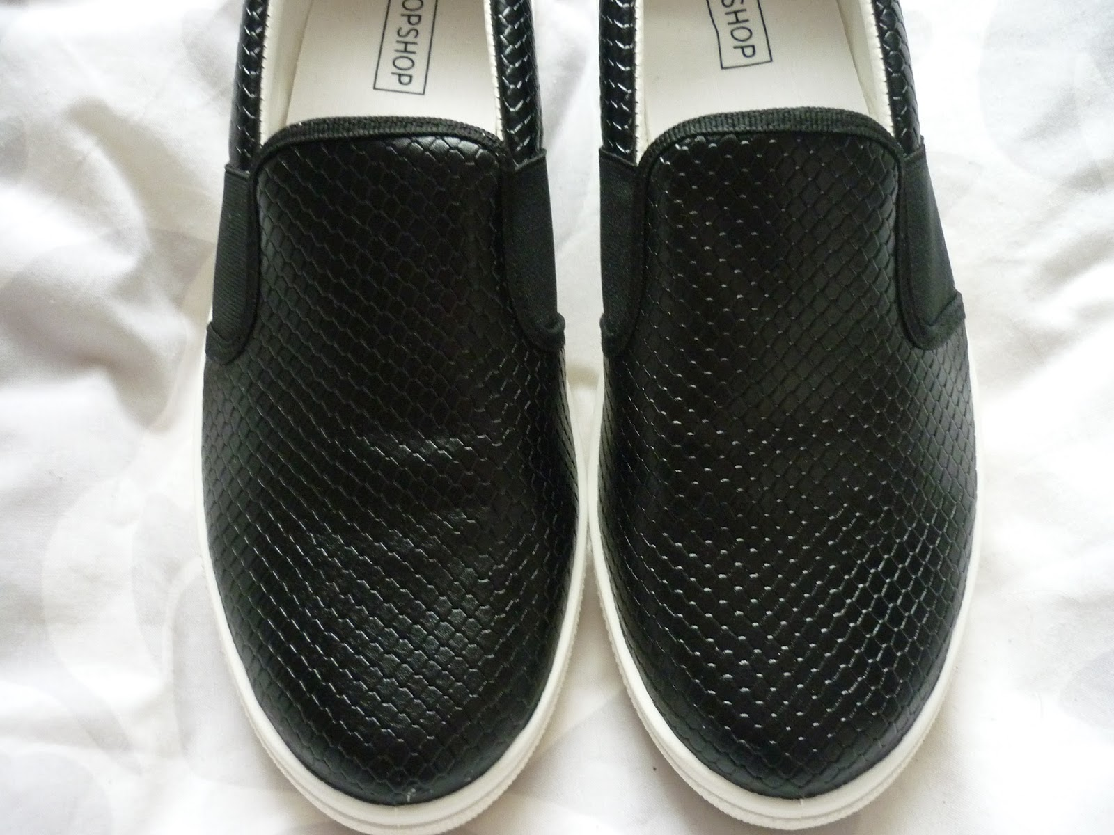 Topshop Lizard Skater Shoes