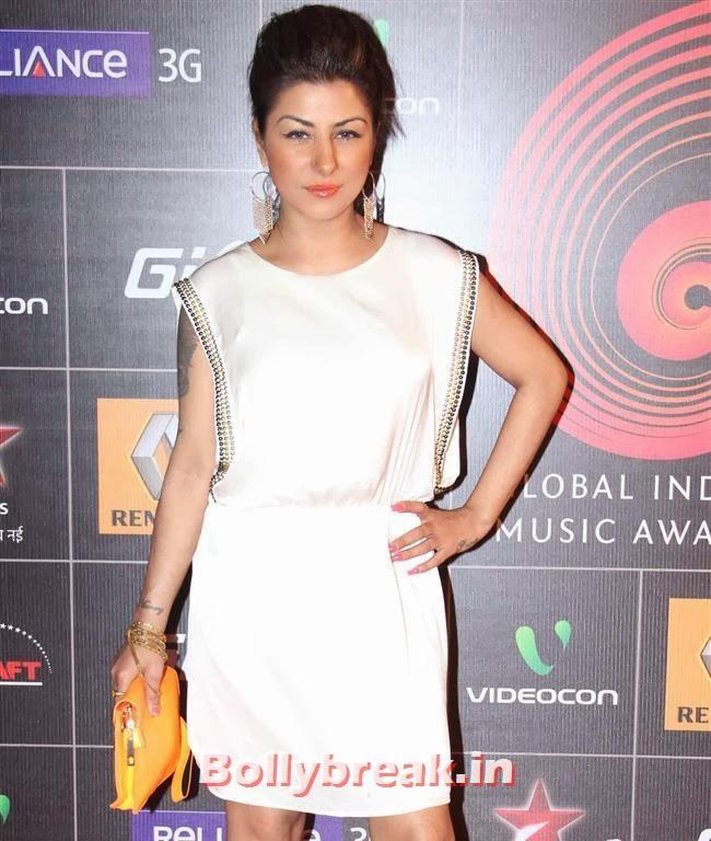 Hard Kaur, Global Indian Music Awards 2014 Pics