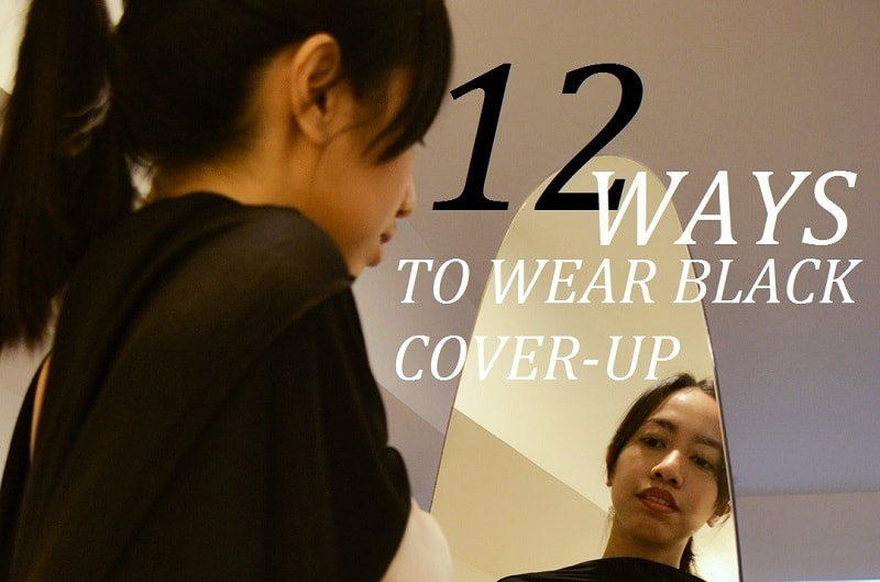 12 Ways to Wear Your Boring Black Cover-Up