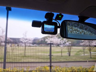 DRY-WiFi40cドライブレコーダーの動画 姫路市 桜山公園周辺