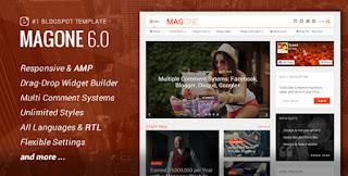 MagOne v6.7.9 Responsive Blogger Template