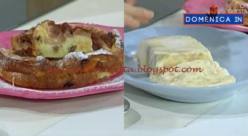 Domenica In - Panettorta e gelato al pandoro ricetta Parodi