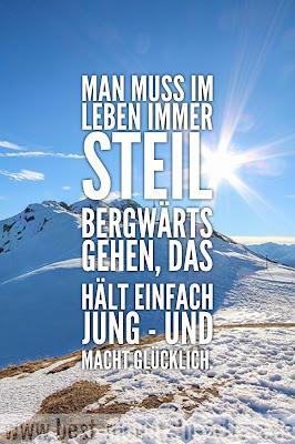 """""""Man muss im Leben immer steil bergwärts gehen, das hält einfach jung - und macht glücklich."""", Anderl Heckmair"""