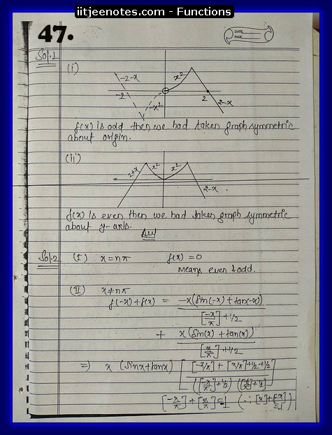 functions notes cbse7