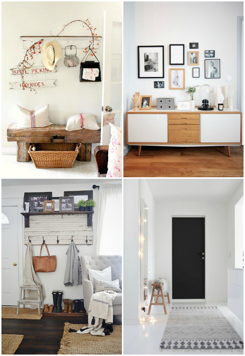 mueble recibidor guardarropa deco recibidores bonitos paso a paso