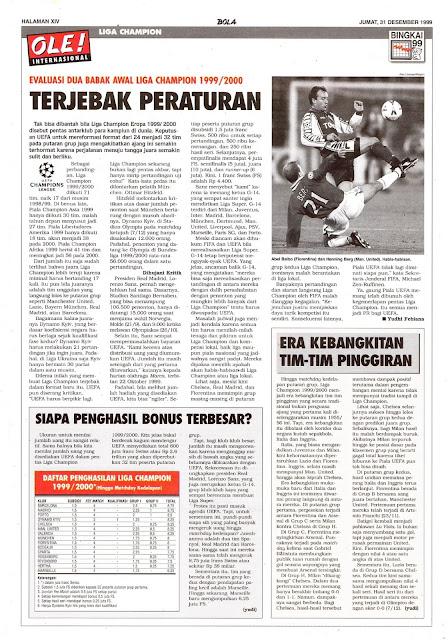 LIGA CHAMPION 1999/2000 TERJEBAK PERATURAN
