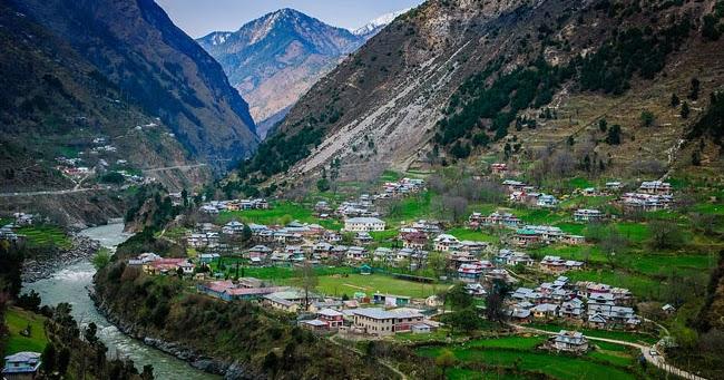 So what does Kashmir look like across LOC?