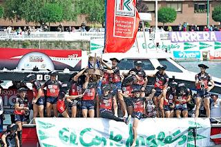 TRAINERAS - Urdaibai campeón de la Liga ACT