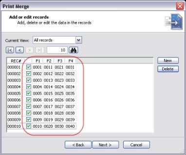 Cara Cepat Membuat Numerator - langkah 6