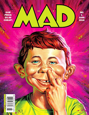 MAD Magazine Relaunch cover