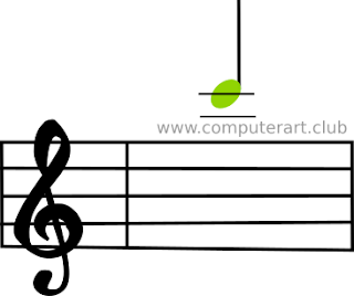 C key Treble Clef