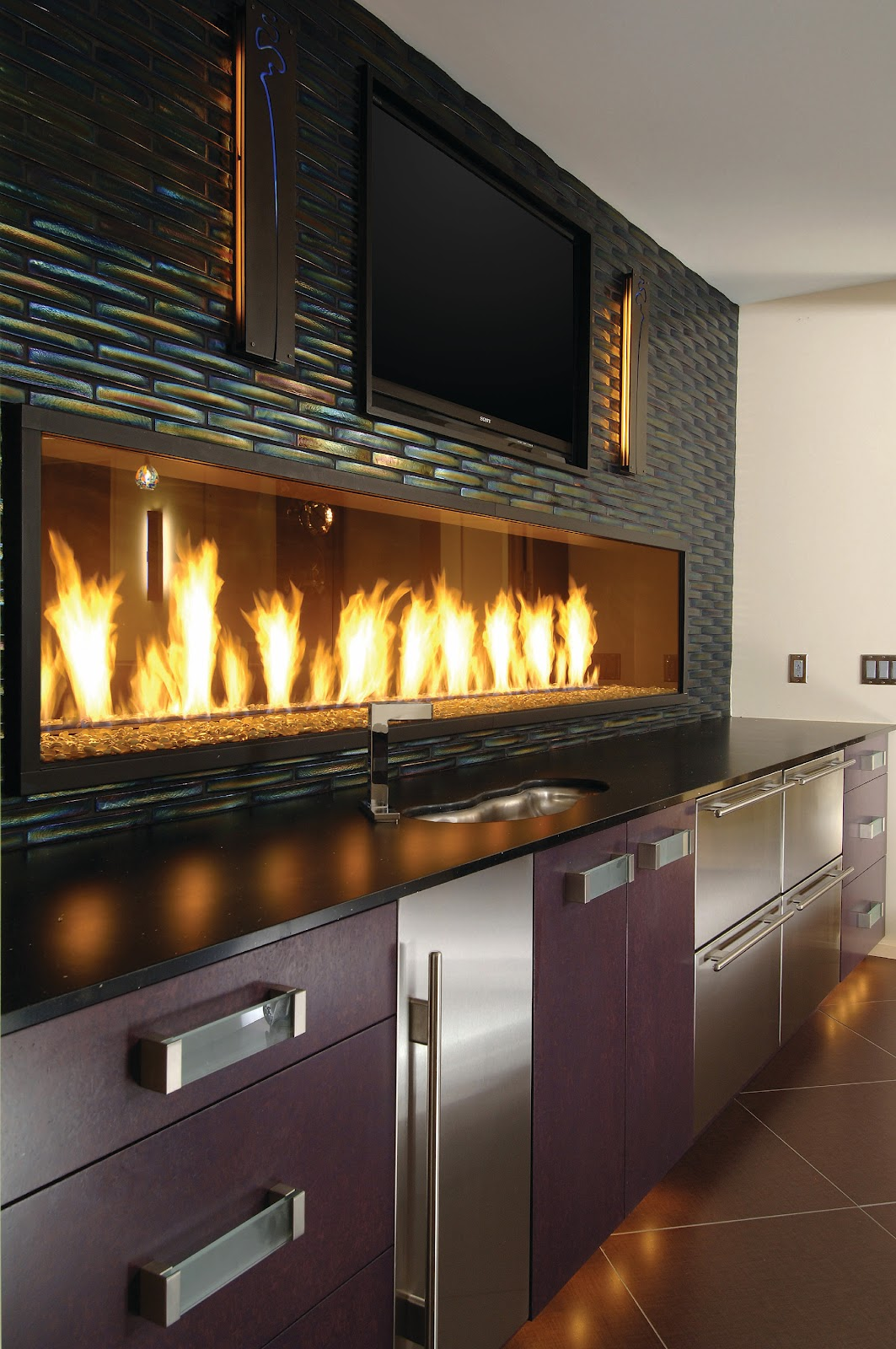 Alpentile Glass Tile Swimming Pools Fireplaces Take