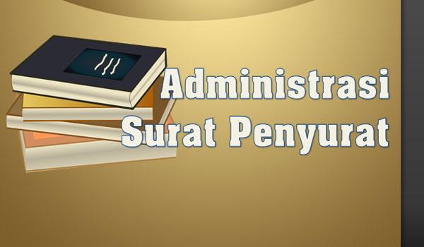 Contoh Lengkap Administrasi Surat Menyurat Sekolah / Madrasah Format Word