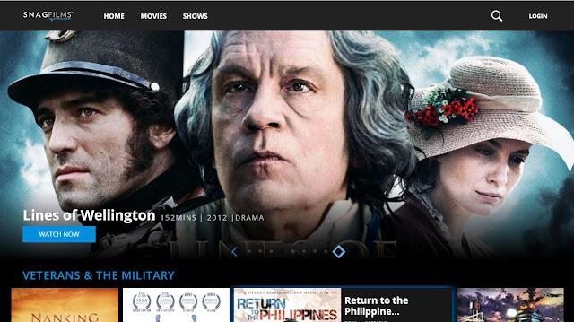 Snagfilms For Windows movies