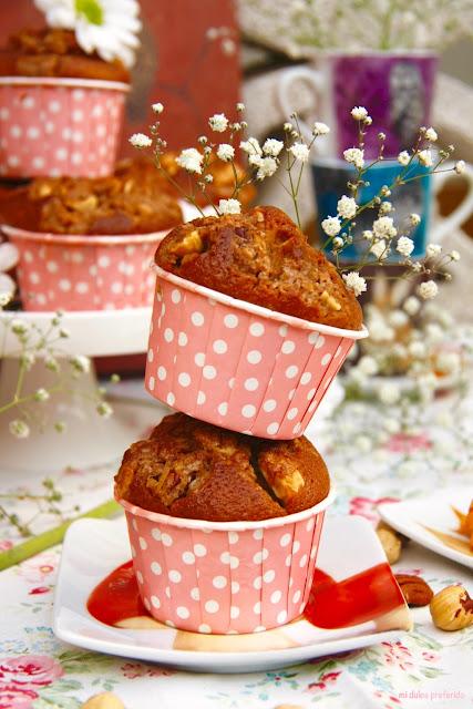 muffins-de-toffee, toffee-muffins