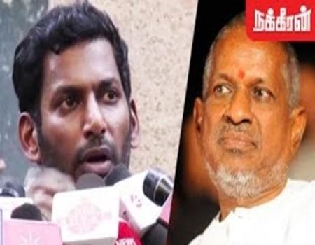 Vishal Team supports Ilayaraja on legal Notice to SPB Issue
