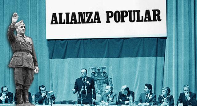 El rescoldo del franquismo en el Partido Popular