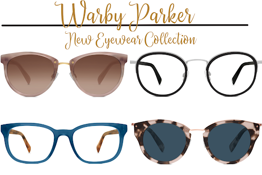 New Warby Parker Eyewear Collection
