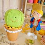 DIY Felt Cactus Pincushion