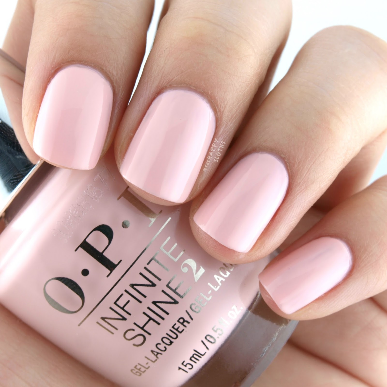 OPI Infinite Shine Sweet Heart Swatches Review