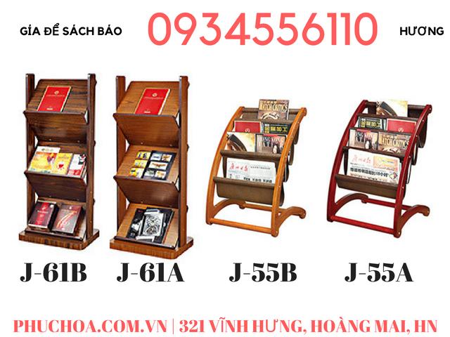 Kệ để sách báo khách sạn, giá để sách báo tạp chí ở Hà Nội