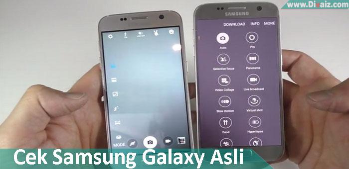 Cara Cek HP Samsung Galaxy Yang Asli