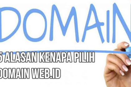 Kenapa Pilih Domain web.id? Ini Alasannya