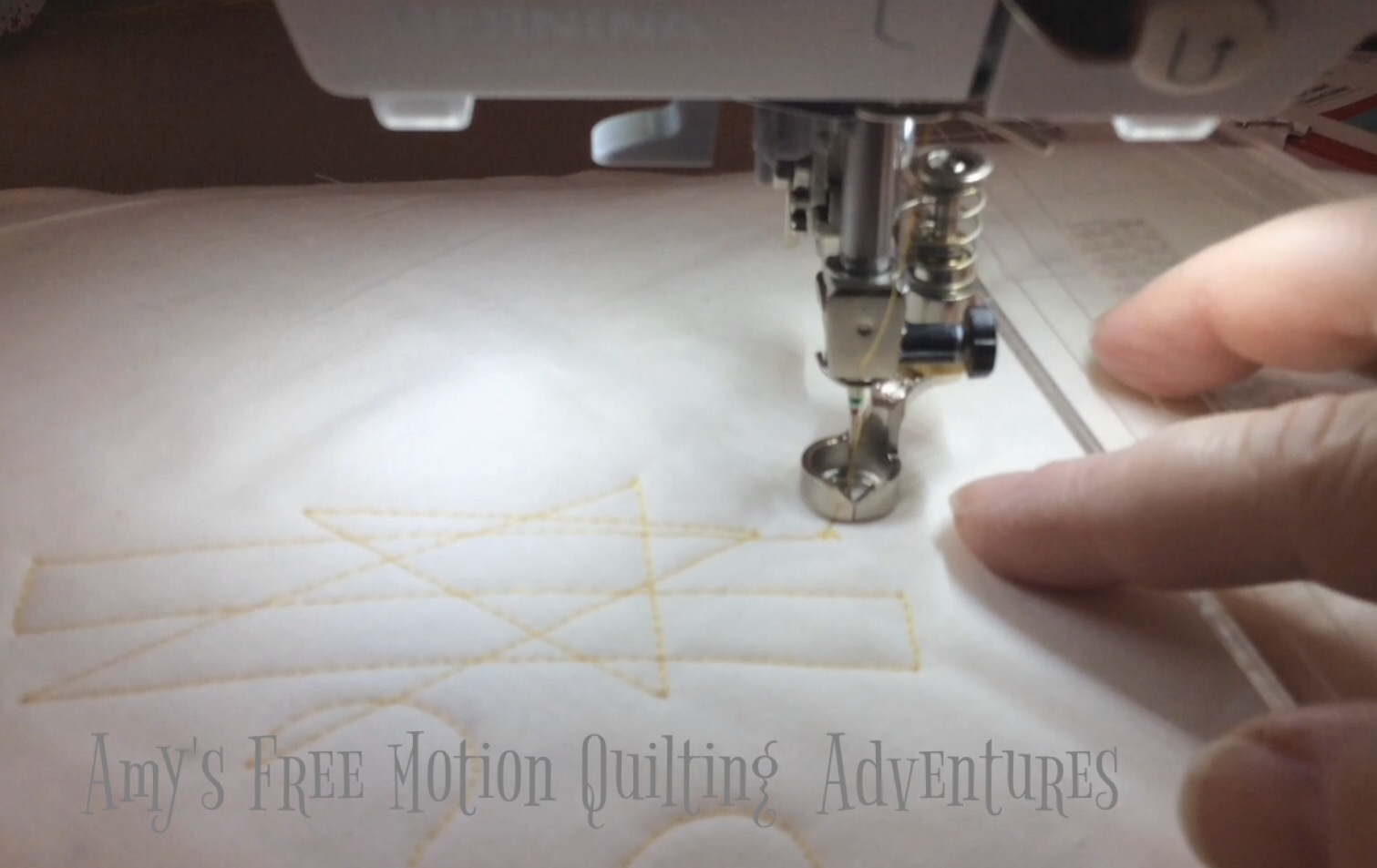 Amy's Free Motion Quilting Adventures: January 2017