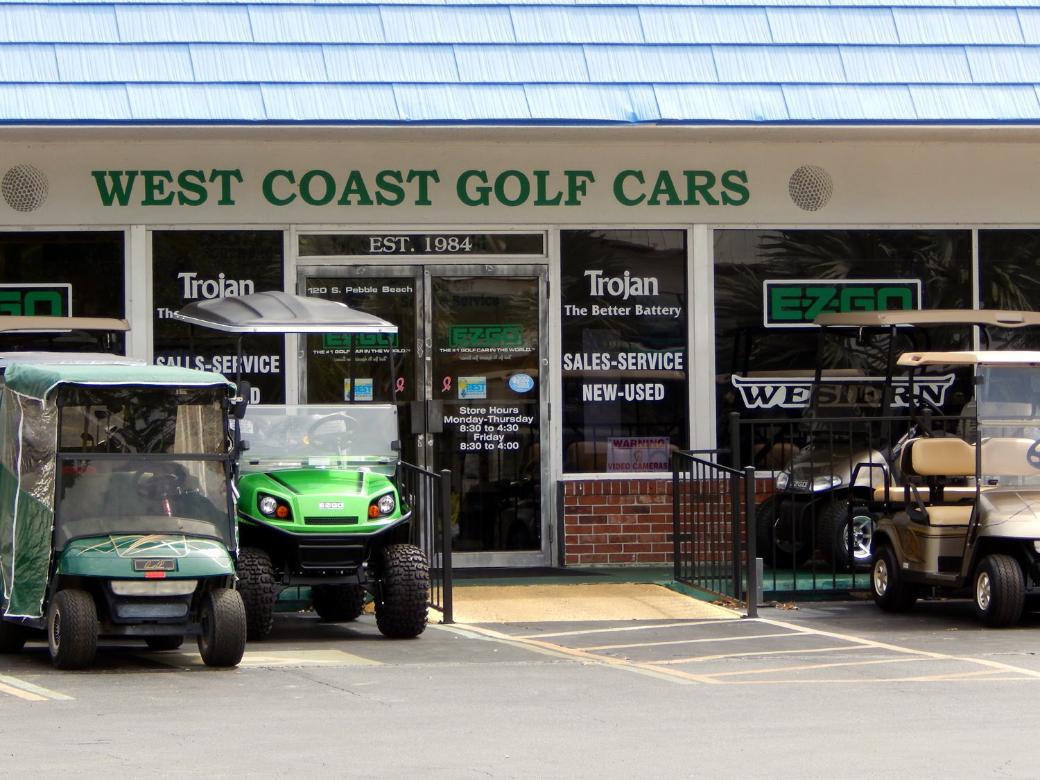 GET PRICES NOW at West Coast Golf Cars in Sun City Center