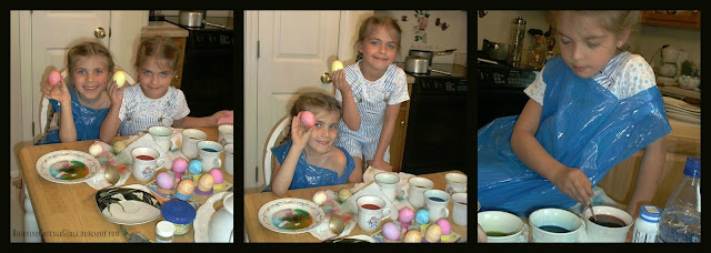 #Easter #EggDying #KidsCrafts