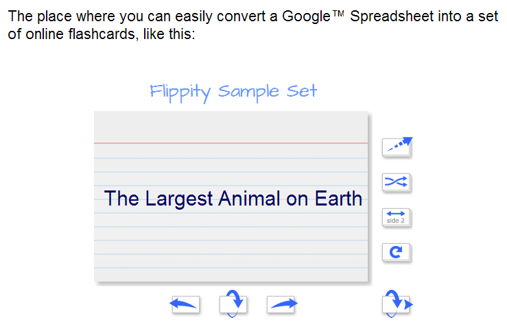 Flippity Is A Good Tool That You And Or Your Students Can Use To Create Flashcards For Any Number Of Topics I Learned About From Steve Fortna Who
