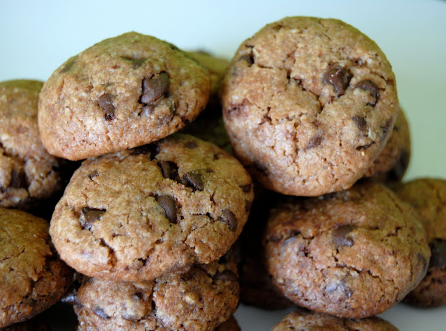 Mini Cookies con Trocitos de Chocolate. Receta