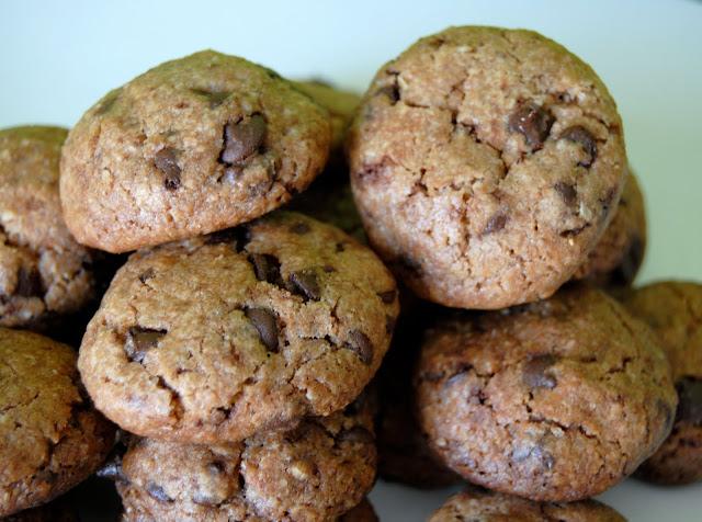 Mini Cookies con Trocitos de Chocolate. Receta