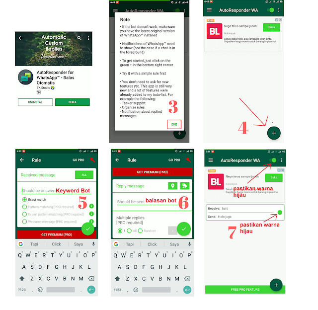 Membuat Bot Whatsapp Auto Reply Terbaru
