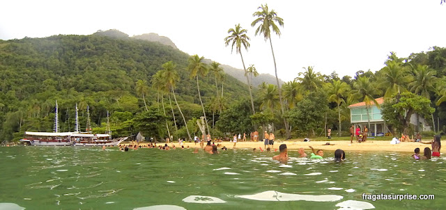Praia da Freguesia de Santana, Ilha Grande