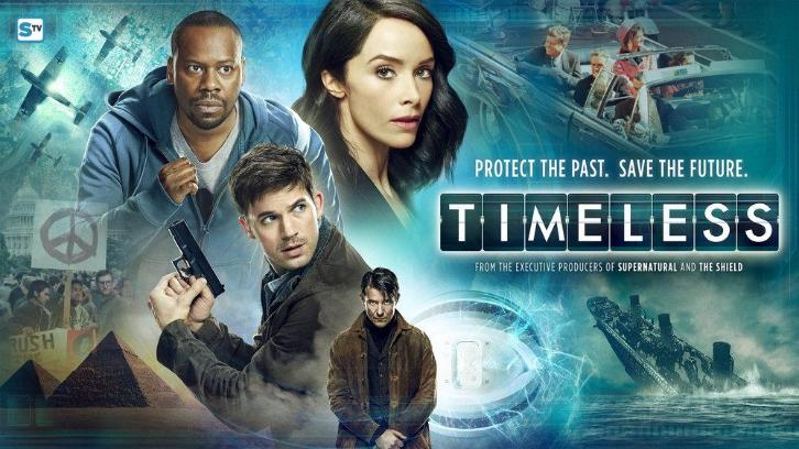 Timeless - Promos, Cast Promotional Photos, Featurette, Poster & Banner
